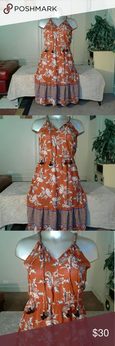 Knox Rose Taupe Multicolored Beautiful Maxi Maxi Dresses Maxi