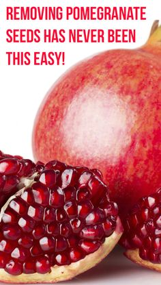 Removing Pomegranate Seeds Has Never Been This Easy! And This Video Will Show You Why!