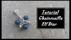 Chainmaille Pendant Tutorial: Elf Stars