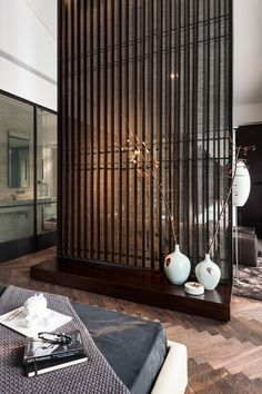 Chinese Style Interior Interiordesign Deco Cecoration Home Asian Japanese Interior, Modern Interior, Interior Architecture, Interior And Exterior, Interior Design, Partition Screen, Partition Design, Divider Design, Room Deviders