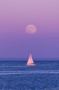 Sailing Under the Moon | Flickr - Photo Sharing!