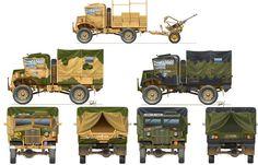 15 CWT Truck with Breda 20/65 Plastic Model Kit