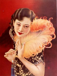 Great article on the cheongsam and 1920s Shanghai. In the Mood for Cheongsam: New Women in Old Shanghai Glamour at MoCA | Sotheby's