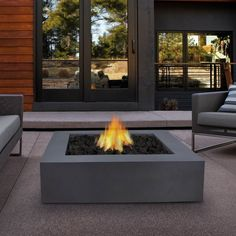 Shop Real Flame  9670LP Flint Gray Mezzo Square Propane Fire Pit at ATG Stores. Browse our fire pits, all with free shipping and best price guaranteed.