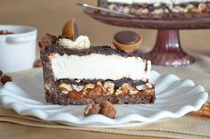 Almost 2 hours in the kitchen but worth it ! Instead of cheesecake put mousse in it! Best Cheesecake, Cheesecake Recipes, Köstliche Desserts, Delicious Desserts, Snack Recipes, Dessert Recipes, Snacks, Cake Cookies, Cupcake Cakes