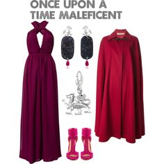 """Disneybounding Once Upon a Time - Maleficent"" by nuhaa on Polyvore"