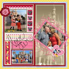 MS Template Challenge #153 - MouseScrappers - Disney Scrapbooking Gallery