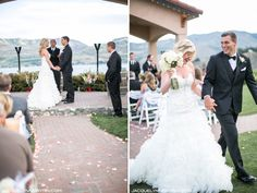 Benson Vineyard Estate Winery Wedding, Lake Chelan Wedding, Winery Wedding, Destination wedding, Jacquelynn Brynn Wedding Photography, central wa photography, officiant, ceremony, recessional, wedding flowers, white