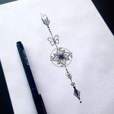 tattoo designs 2019 picture result for where do you put an unalome tattoo - - . - tattoo designs 2019 picture result for where do you put an unalome tattoo – – - Mini Tattoos, Trendy Tattoos, Flower Tattoos, Body Art Tattoos, Small Tattoos, Tattoos For Women, Tatoos, Small Arrow Tattoos, White Tattoos