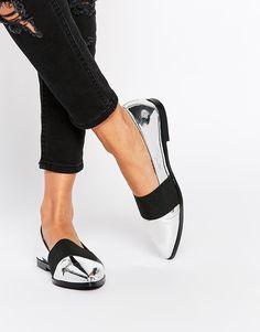 Image 1 ofASOS MAMBO Flat Shoes