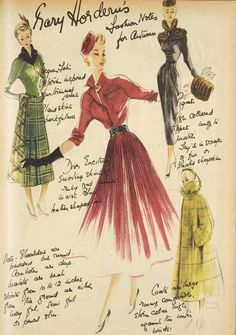 1948 fashions Fashion Photo, Fashion Art, Retro Fashion, Vintage Fashion, Australian Vintage, Australian Fashion, Moda Vintage, Vintage Vogue, 1940s Vintage Dresses