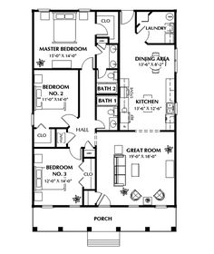 Floor plan for a small house 1150 sf with 3 bedrooms and 2 baths benkelman ranch home tiny home plansbest house ccuart Choice Image