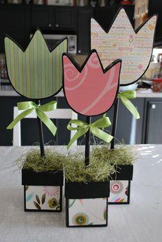 NoriKraft: Tulip Topiary