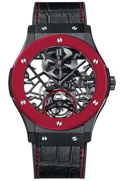 Red ceramic Hublot <<<< this would be a nice addition to my watch collection