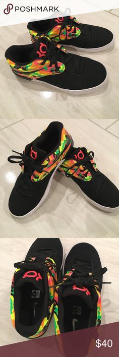 Nike KD shoes Brand-new without box without tags have only worn around my house never outside perfect condition boys size 7 Nike Shoes Sneakers