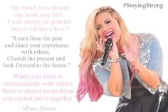 Demi Lovato | quotes...this almost made me cry reading it