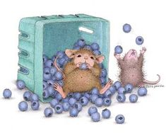 """Have a berry happy birthday."" from House-Mouse Designs"