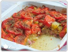 Plat courgette et tomate