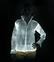 Reflective Fabric | ... reflective fabric that emits light. Discos may never be the same again