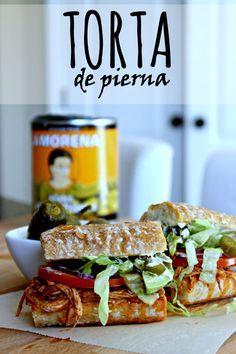 Aprende a preparar esta deliciosa Torta de Pierna tal como lo hacen en México #VivaLaMorena  [ad] by www.unamexicanaenusa.com