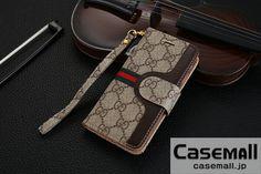 iphone8 ケース GUCCI 手帳型 iphone7s/7ケース ストラップ付き グッチ アイフォン7sプラスケース 男性用