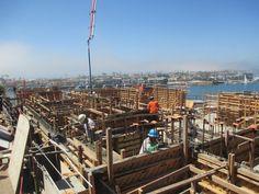 Second Floor Walls Concrete Pour | Brion Jeannette Architecture | Newport Beach California | Energy Conscious Design