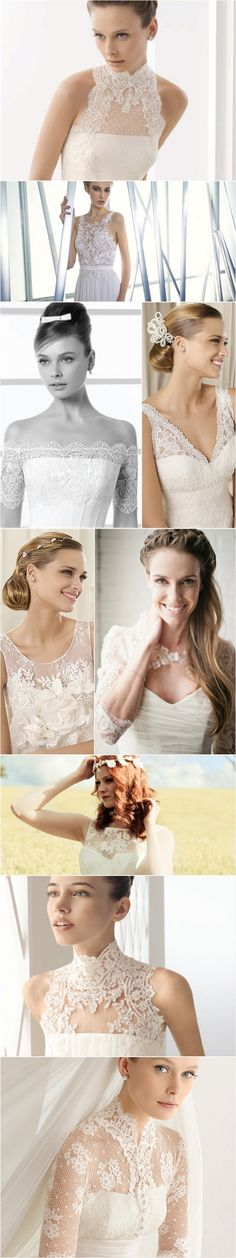 Praise Wedding » Wedding Inspiration and Planning » 19 Lace Wedding Dresses