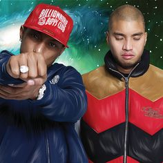 The Neptunes(Pharrell Williams and Chad Hugo)
