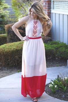 Tribal Maxi Dress   UOIOnline.com: Women's Clothing Boutique