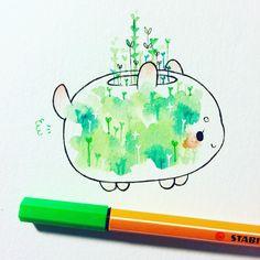 poot plant doodle