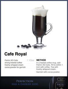 Patrón Cafe Royal