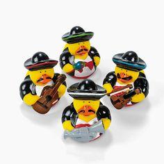12 Mariachi Rubber Duckies - OrientalTrading.com Elena needs these :D