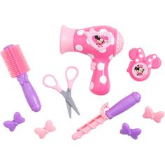 Minnie Mouse Bow-Tique Hairstylist Play Set
