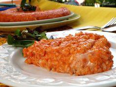 La Frittata supplì scamorza e prosciutto cotto e una semplice variante del classico suppli preparato con i ragù e tocchetti di mozzarella filante.