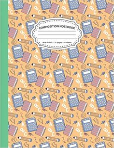 Composition Notebook: Book & Pencil Wide Ruled Composition Notebook For School & College Students. Large 8.5 x 11 Inch Size - 120 Pages.: House, Rana Book: 9798453992133: Amazon.com: Books Christmas Hoodie, Kindle App, College Students, Composition, Pencil, Notebook, Amazon, School, Books