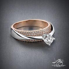كد : 15864 انگشتر طلاي سفيد و رزگلد 18 عيار 106 عدد نگين برليان سفيد پاك 1عدد تخمه برليان با شناسنامه GIA آمريكا F VS2 ExExEx none قيمت : 8/250/000t #Zomorodijewelry #Zomorodi #Jewelry #Jewellery #Ring #Wedding #Diamond #HighJewellery #FineJewellery #GIA #حلقه #الماس #برليان #انگشتر #انگشترعروس #انگشتربرليان #GIA #زمردي #جواهر #جواهرات