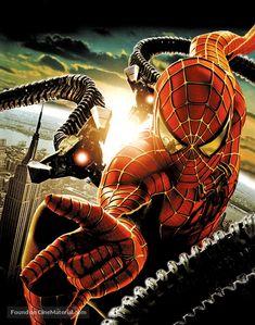Spider-Man 2 poster, t-shirt, mouse pad Spiderman Sam Raimi, Spiderman 1, Amazing Spiderman, Marvel Fan, Marvel Heroes, Marvel Avengers, Spider Art, Spider Verse, Teen Wolf