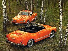 doyoulikevintage: VW Karmann-Ghia Coupé & Roadster