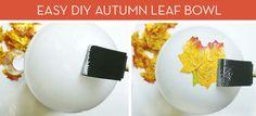 How to: DIY Decorative Leaf Bowl Tutorial » Curbly | DIY Design Community