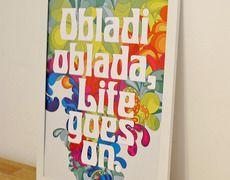 La La La La Life Goes On Decoracao Posteria No Enjoei P Como