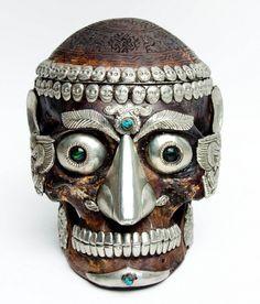 Tibetan Ritual Skull