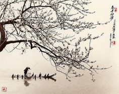 An Asian landscape, fot. Don Hong-Oai (1929-2004)
