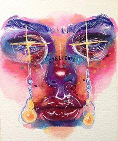 Art Sketches, Art Drawings, Art Et Design, Arte Sketchbook, Art Hoe, Psychedelic Art, Art Portfolio, Mellow Yellow, Pretty Art