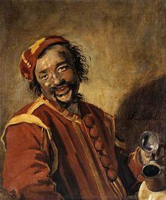 'Peeckelhaering', Oil On Canvas by Frans Hals (1580-1666, Belgium)