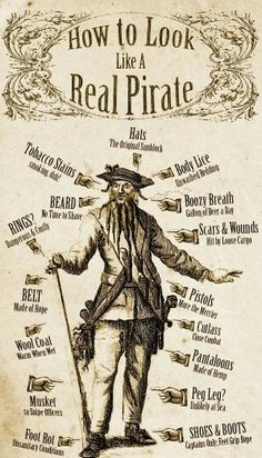 How to look like a pirate