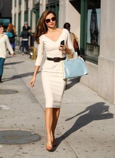 Miranda Kerr media gallery on Coolspotters. See photos, videos, and links of Miranda Kerr. Business Professional Outfits, Business Attire, Business Chic, Business Formal, Business Meeting, Professional Women, Business Women, Look Fashion, Fashion Outfits