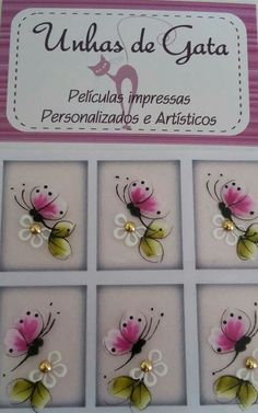Adesivos Crazy Nail Art, Crazy Nails, Nail Manicure, Diy Nails, Spring Nails, Summer Nails, Face Painting Flowers, Sunflower Nail Art, Butterfly Nail Art