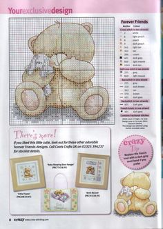 forever friends cross stitch patterns free download