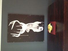 Oh Deer hanging in the home of Jodie.  #urbanroad  #canvas #art www.urbanroad.com.au