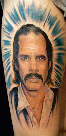 Nick Cave Tattoo